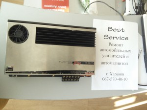 Audio System Twister F4 - 380 : Ремонт автоусилителя