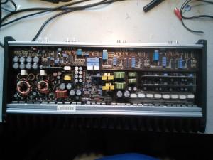 JL Audio 500/5: Ремонт автоусилителя, фон в динамиках