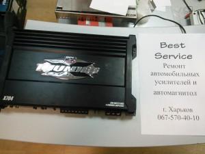MTX THUNDER 704: Ремонт одного канала усилителя