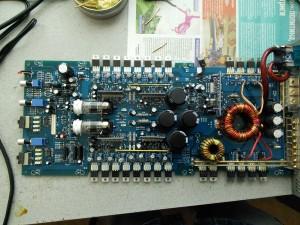 Adagio VAC-110.4: Ремонт лампового усилителя