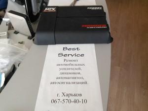 MTX TC6001: Не работает усилитель