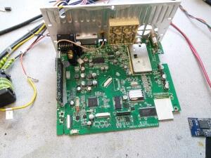 Магнитола подделка Pioneer 2DIN - не работает экран