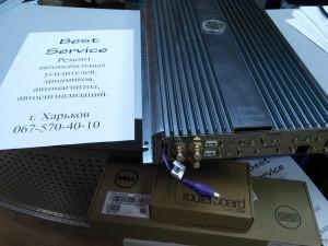 Усилитель DLS RA50 - установить дополнительный вход для канала сабвуфера