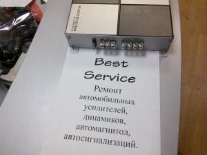 Усилитель Audio System M-line 2.60 не включается