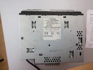 Alpine iXA-W404R - неправильно подключили и спалили усилитель звука.