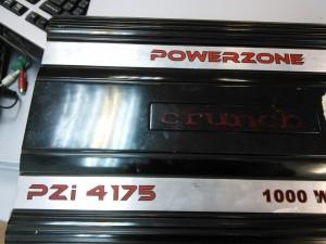 Crunch PZI4175 - усилитель нестабильно работает