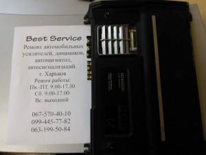 Моноблок Kenwood Kac-9103D - усилитель выключается при добавлении мощности