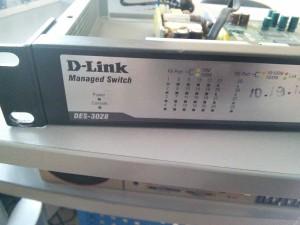 Два управляемых коммутатора D-LINK DES-3028 D-LINK DES-3526 - не работают, один после залива
