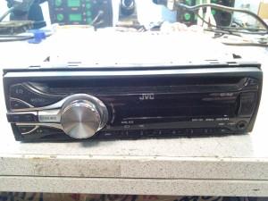 Магнитола JVC KD-R48 - нет звука даже после замены УНЧ