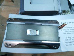 Автоусилитель JBL GTO 100.4 - выгорели разъемы питания