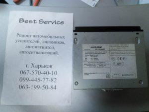 Автомагнитола Alpine IVE-530BT - разбит сенсор, замена сенсора (тачскрина)