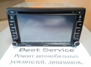 Магнитола Cyclon MP-7020GPS - не показывает экран