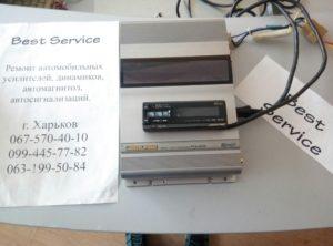 Процессор Alpine RUA-4120 - не работает подсветка экаран