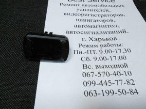 Регистратор RS DVR-313 - неправильно установлена карта памяти