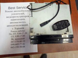Магнитола JVC AVX-730 - замена сенсорной панели, не работают кнопки