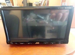 Магнитола JVC KW-AVX800 - разбит сенсор