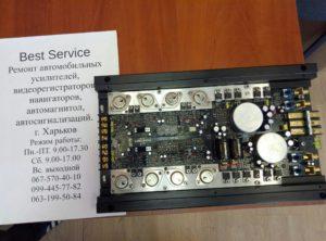 Усилитель Helix HXA400 MK2 - в защите, нет звука