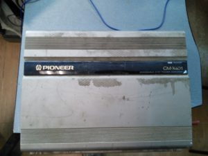 Усилитель Pioneer GM-X404 - в защите, нет звука