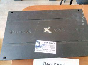 Усилитель Helix X-MAX 5.2 - уходит в защиту сразу после включения