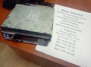Магнитола Alpine 9855 - не работает регулятор громкости, плохо читает диски
