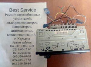 Магнитола Pioneer MVH-08UB - замена разъема USB.