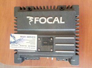Усилитель автомобильный Focal Solid 2 - синус на выходе одного канала