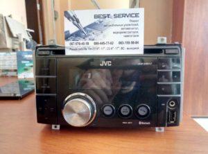 Магнитола JVC KW-XR817 - не включается