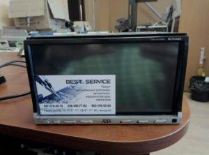 Магнитола JVC KW-AVX800 - замена сенсора