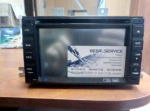 Штатная автомагнитола - замена сенсора и экрана