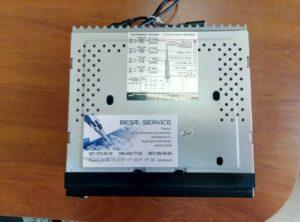 Магнитола CyclonMP7015GPS - белый экран, не включается
