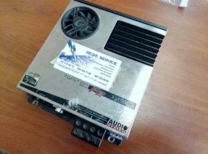 Усилитель Audio System F2 190 - неправильно работает регулятор громкости