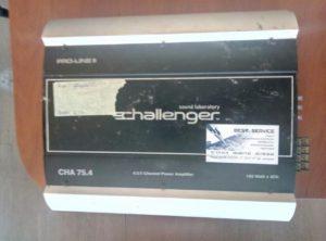Автомобильный усилитель Challenger CHA 75.4 - доработка усилителя
