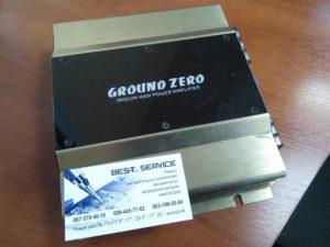 Автоусилитель Ground Zero 2080 - сильные искажения в одном канале