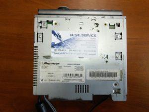 Магнитола Pioneer DEH-P7950UB - замена шлейфа передней панели