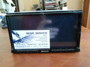 Магнитола Kenwood DDX8054BT - замена экрана и восстановление рамки