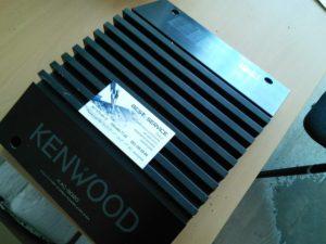 Усилитель Kenwood KAC-9020 - замена разъемов питания и линейного входа на современные