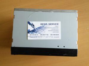 Автомагнитола 7023CRBG - замена экрана, белый экран