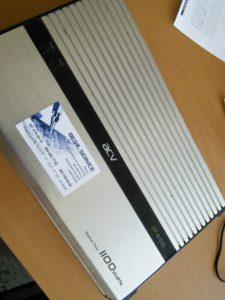 Усилитель ACV SP-4.100L - в защите, не работает