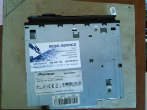 Автомагнитола Pioneer DEH-P700BT - не читает диски