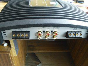 Усилитель Prestige P-4EVO - пропадает звук, требуется ремонт RCA разьемов