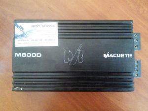 Усилитель Machete M800D - в защите