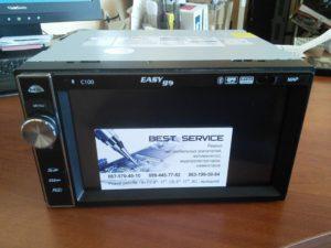Автомагнитола EasyGo C100 - замена сенсора (тачскрина)