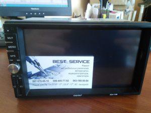 Автомагнитола Digital DCA-710B - не показывает экран
