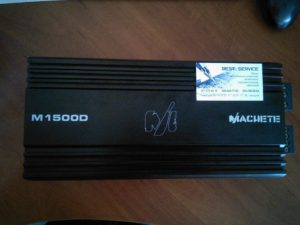 Усилитель Alphard Machete M1500D - в защите, горят предохранители