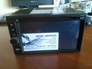 Магнитола Shutle SDVA6950 - не показывает экран, белый экран
