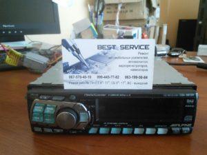 Автомагнитола Alpine CDA-9813R - не корректно работает, нет звука