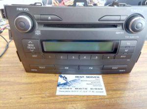 Штатная автомагнитола Toyota - не работают CD MP3 диски