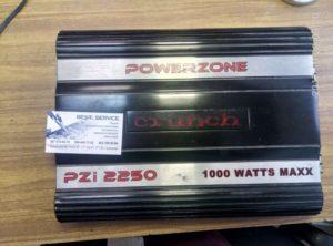 Усилитель Crunch PZi 2250 периодически пропадает звук