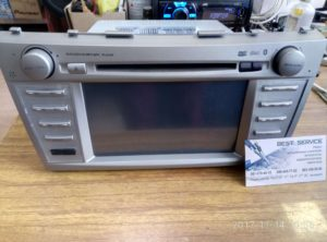 Китайский штатник Toyota Camry V30 - не работает USB, радио, диск
