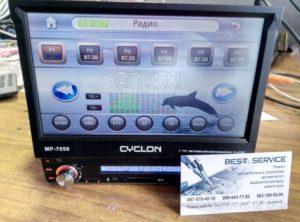 Автомагнитола Cyclon MP7050 - не работает сенсор